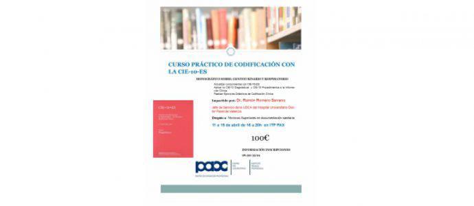 Curso actualización CIE-10-ES