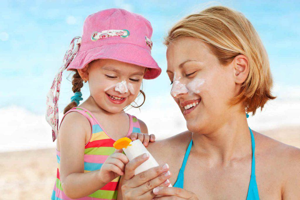 madre e hija sol