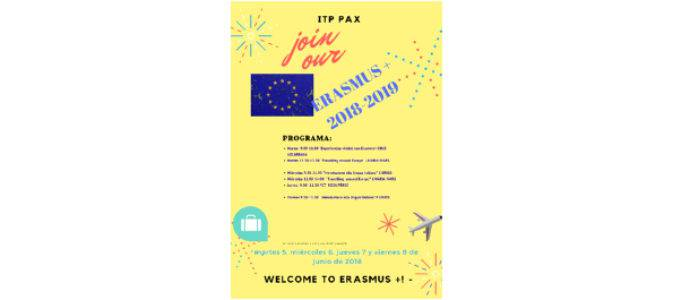 WELCOME TO ERASMUS + 2018/2019