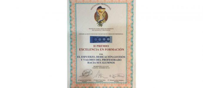 II Premio Excelencia en Formación