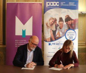 Firma convenio MICOF - PAX