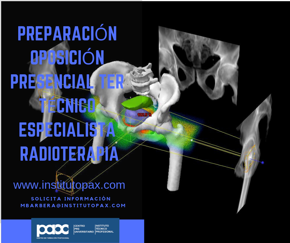 CARTEL DIFUSIÓN oposicion radioterapia