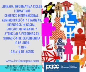 cartel jornada informativa 10 abril